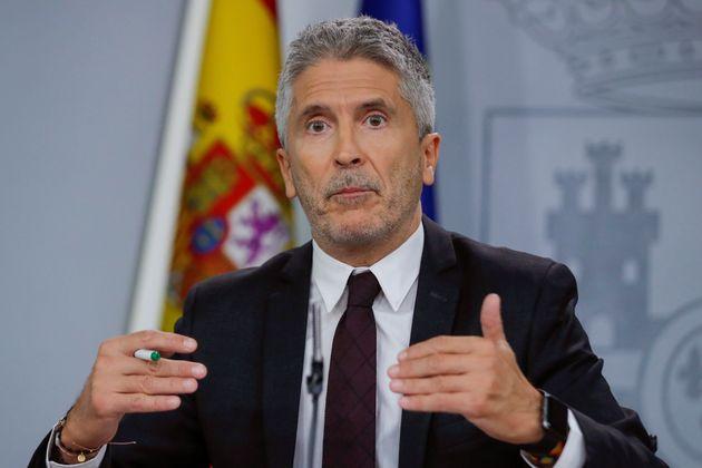 Fernando Grande-Marlaska, ministro de