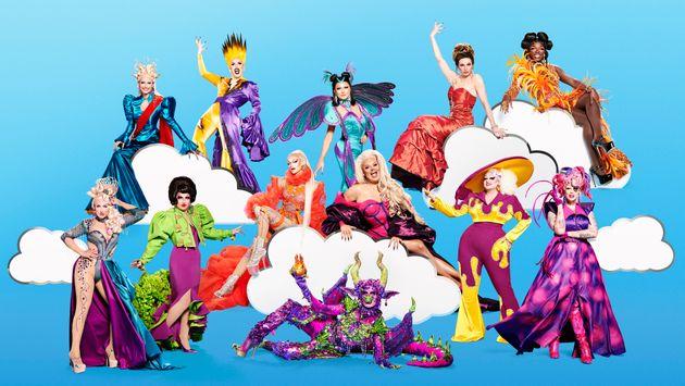 The queens of RuPaul's Drag Race UK series