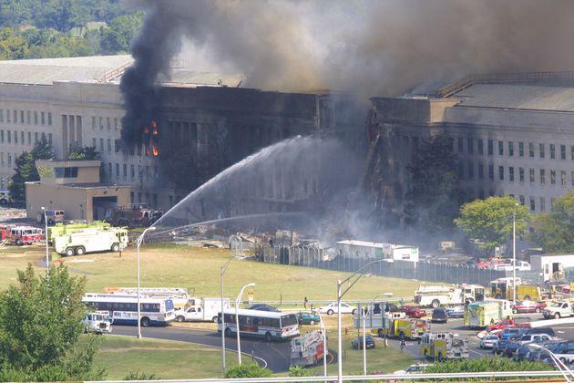 航空機が衝突したペンタゴン(2001年9月11日)