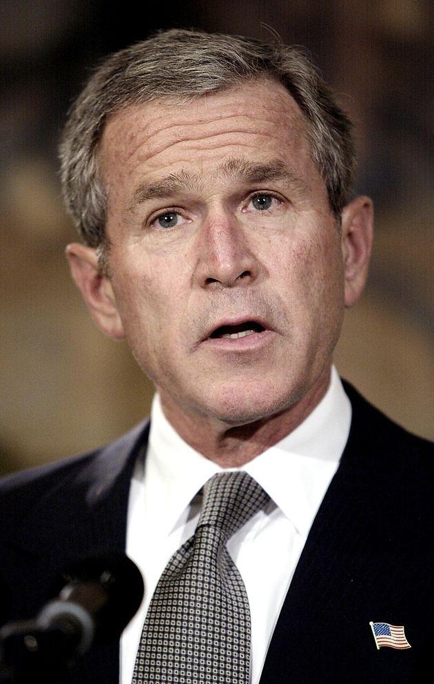 ジョージ・W・ブッシュ大統領(2002年10月)