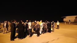 Dos aviones estadounidenses con 450 evacuados de Afganistán llegan a