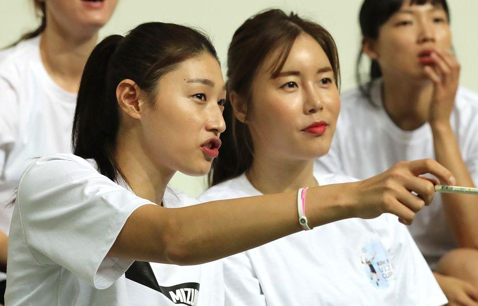 김연경,김사니