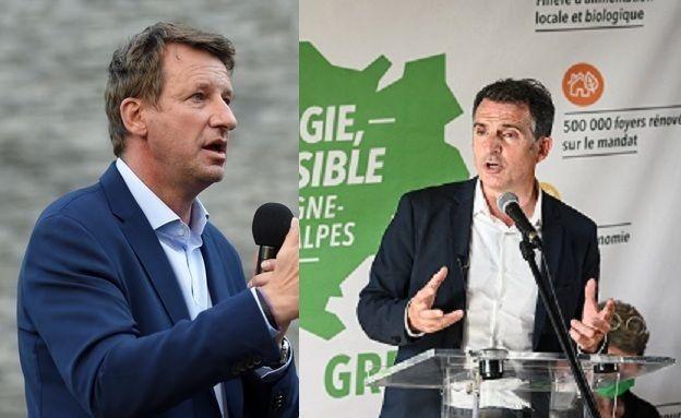 Yannick Jadot et Eric Piolle, candidats à la primaire