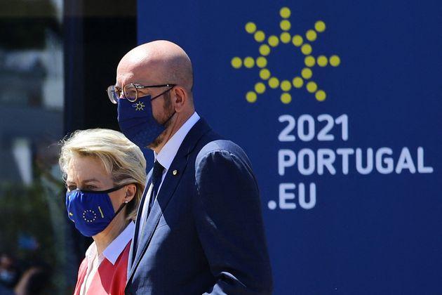 Ursula von der Leyen y Charles Michel, el pasado mayo en