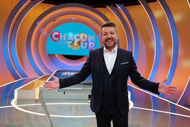 Bruno Guillon sur le plateau de la nouvelle émission de France TV