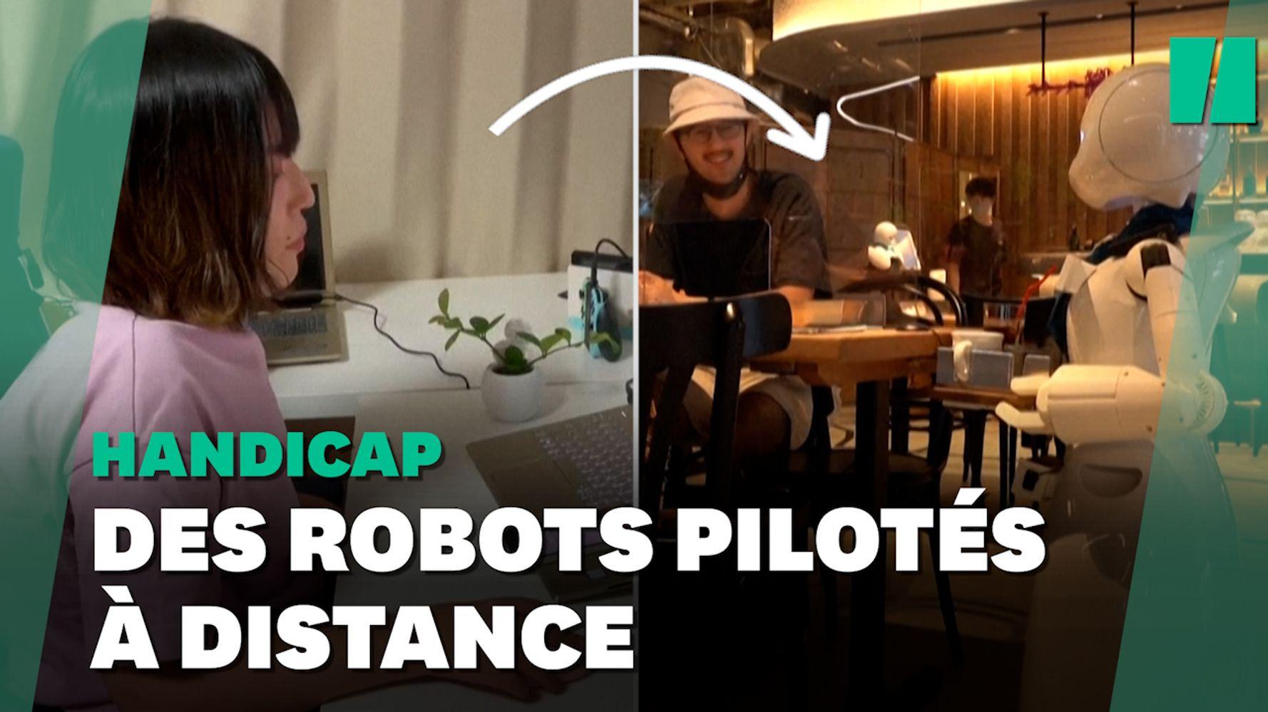 Ce café de Tokyo permet à ses employés handicapés de télétravailler grâce à des robots
