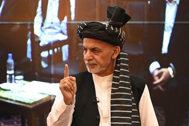 Afghanistan's president Ashraf
