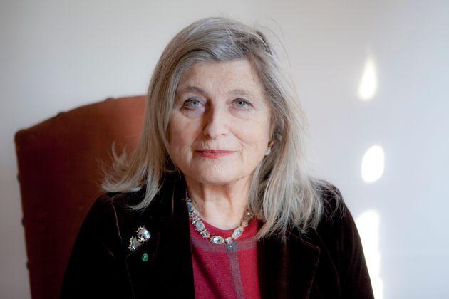 Gaia Servadio, Italian writer, Mantova, Italy, 27th January 2012. (Photo by Leonardo Cendamo/Getty Images)