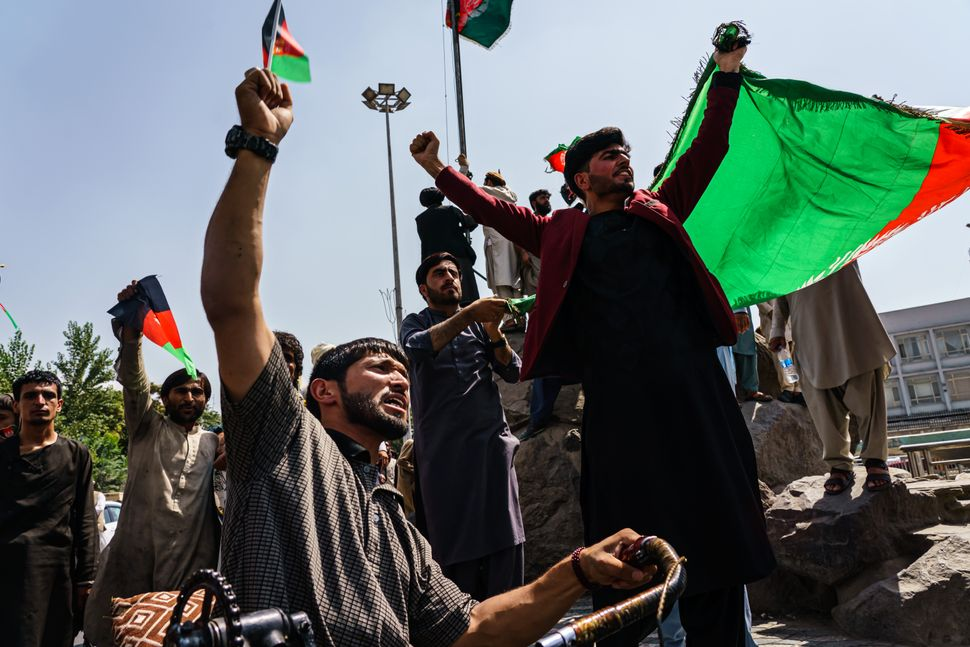How Afghans Are Pushing Back Against The Taliban With Peaceful