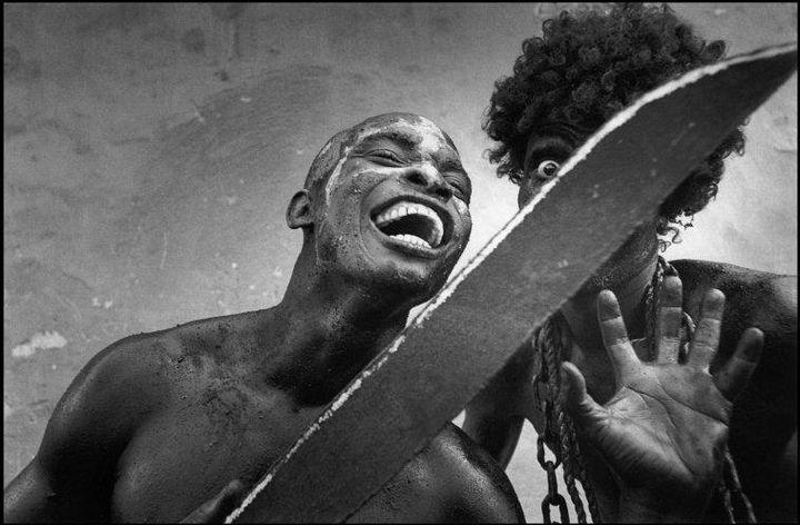 Haiti. Carnaval de Jacmel. 2001. © Cristina García Rodero / Magnum Photos .