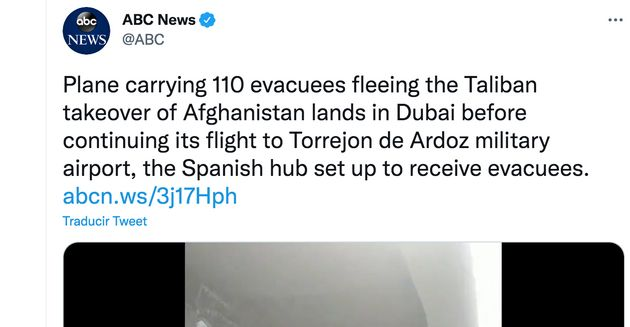 Imagen del Ejército español en Afganistán que destaca la cadena 'ABC