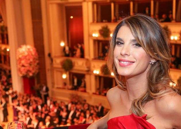 VIENNA, AUSTRIA - FEBRUARY 12: Elisabetta Canalis attends the traditional Opera Ball Vienna at State Opera Vienna on February 12, 2015 in Vienna, Austria. (Photo by Monika Fellner/Getty Images)