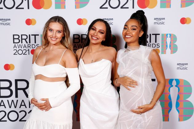Perrie Edwards's bandmate Leigh-Anne Pinnock is pregnant with her first