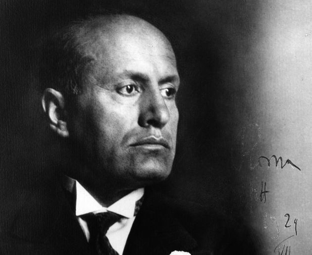 1st October 1935: Benito Mussolini (1883 - 1945) the Italian dictator and founder of the fascist 'Blackshirt' party in 1919. (Photo by Fox Photos/Getty Images)