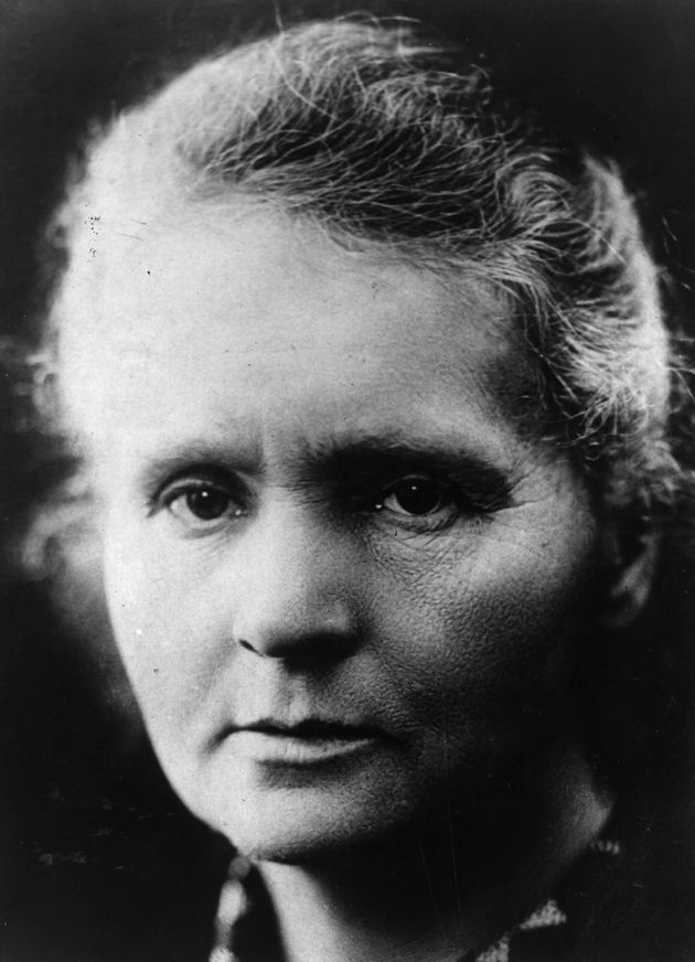 Polish-born French physicist Marie Curie, (1867 - 1934). (Photo by Hulton Archive/Getty