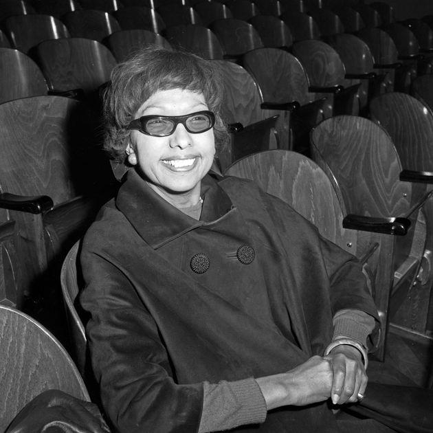 Josephine Baker en 1964 (Photo by Siegfried Pilz/United Archives via Getty