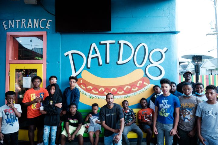 Since Phipps' release, he's been volunteering with Son of a Saint, a Black-led nonprofit that supports and creates pathways for young men growing up fatherless in New Orleans.