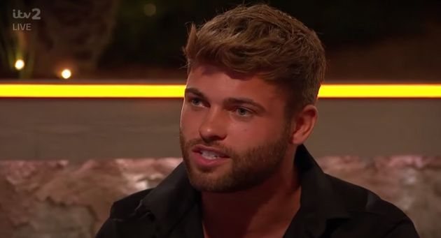 Jake speaks to Laura Whitmore on