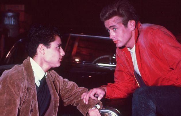 James Dean con Sal Mineo in