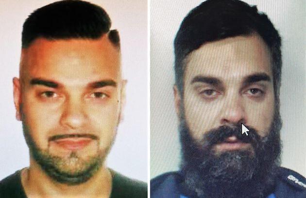 La foto segnaletica di Antonino Sciuto, 38 anni, l'ex fidanzato di Vanessa Zappalà, ricercato per l'omicidio della 26enne commesso la notte scorsa nel lungomare di Acitrezza, 23 Agosto 2021. ANSA/US/POLIZIA