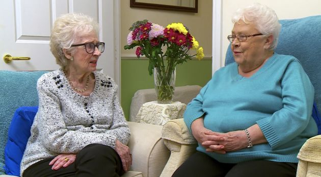 Mary pictured with her friend and Gogglebox co-star