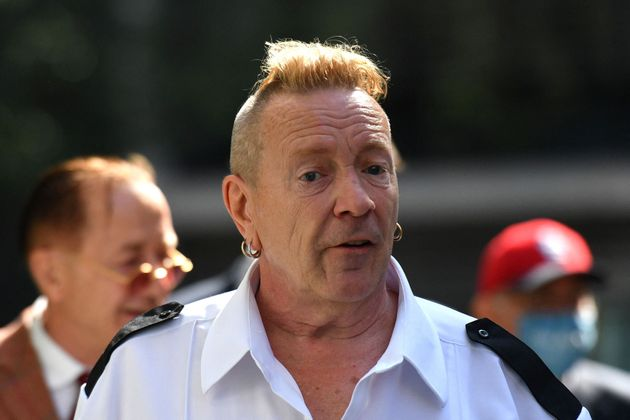 John Lydon pictured arriving in court last