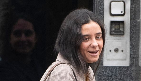 Victoria Federica en enero de 2020 en Madrid.