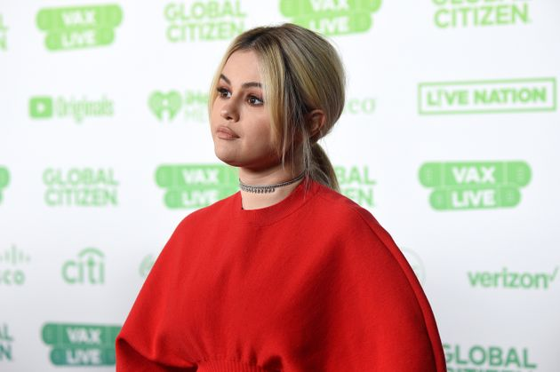 INGLEWOOD, CALIFORNIA: In this image released on May 2, Selena Gomez speaks onstage during Global Citizen VAX LIVE: The Concert To Reunite The World at SoFi Stadium in Inglewood, California. Global Citizen VAX LIVE: The Concert To Reunite The World will be broadcast on May 8, 2021. (Photo by Kevin Mazur/Getty Images for Global Citizen VAX LIVE)
