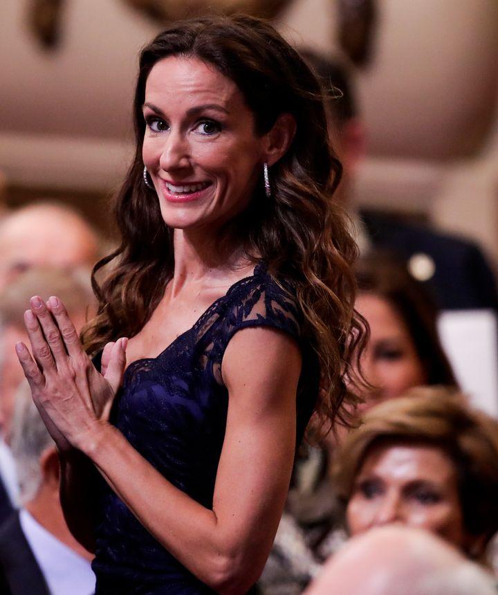 Telma Ortiz, en los premios Princesa de Asturias en 2019