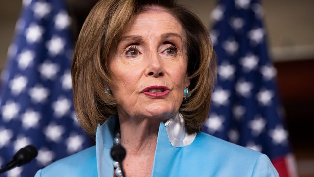 Nancy Pelosi In Showdown With Centrist Democrats Over Infrastructure Bill.jpg