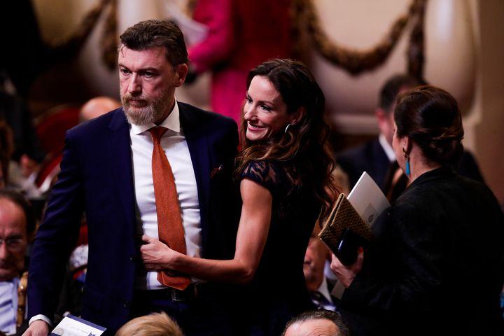 Robert Gavin y Telma Ortiz