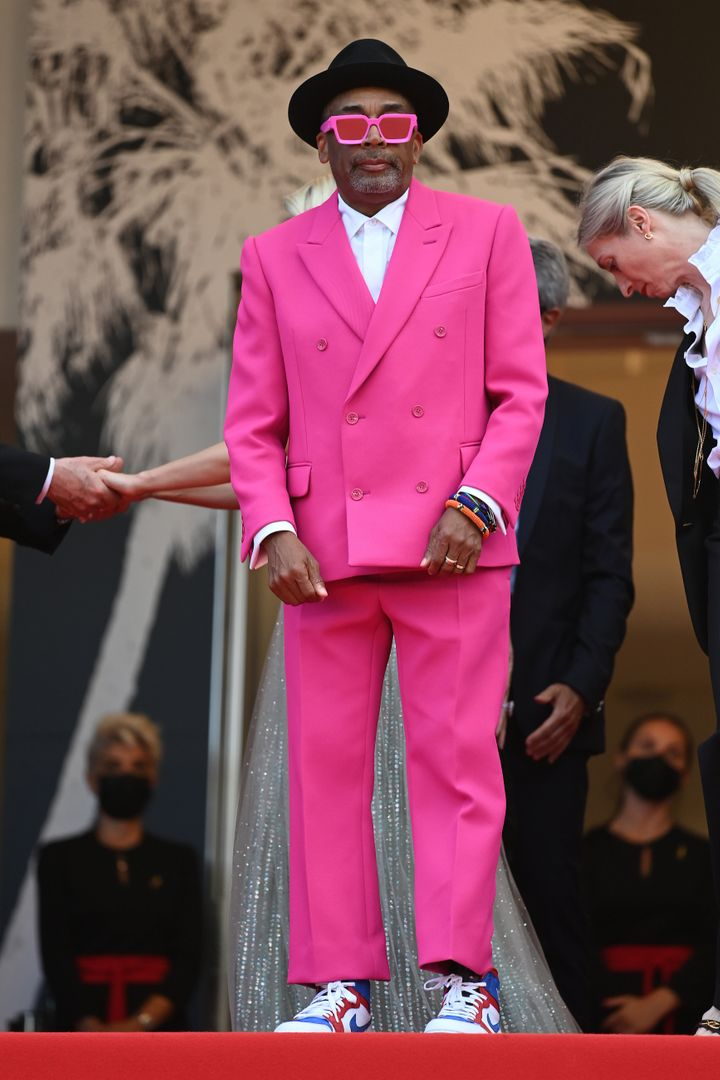 """Spike Lee at the """"Annette"""" screening and opening ceremony during the 74th annual Cannes Film Festival on July 6."""