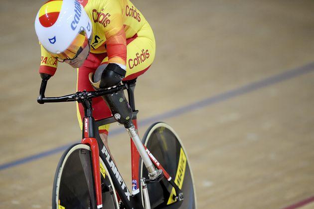Ricardo Ten, en el velódromo de Rio en el Mundial de