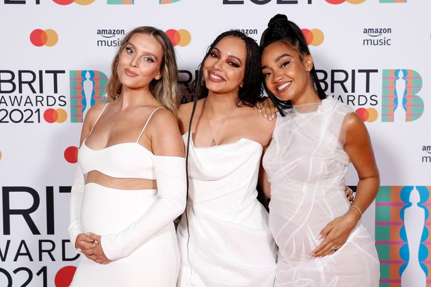 Jade Thirlwall (centre) with Little Mix bandmates Perrie Edwards and Leigh-Anne