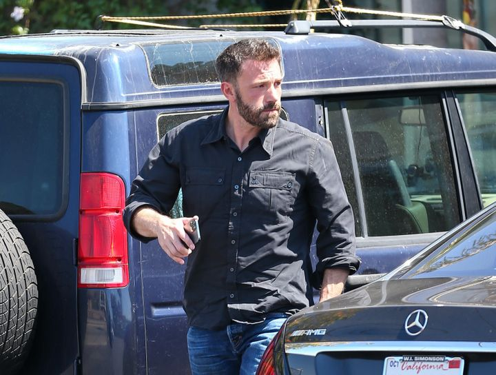Ben Affleck, el 10 de agosto de 2021 en Los Angeles, California.