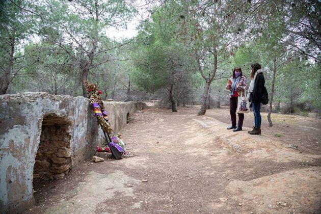 El terrer, el lugar donde fusilaban a los enterrados en la fosa 21 de