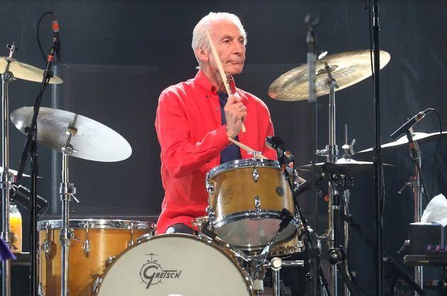 Muere Charlie Watts, batería de los Rolling