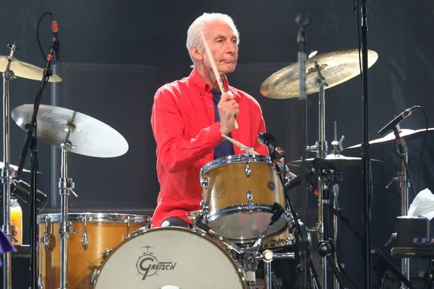 EAST RUTHERFORD, NEW JERSEY - AUGUST 05: Charlie Watts of The Rolling Stones performs at MetLife Stadium on August 05, 2019 in East Rutherford, New Jersey. (Photo by Taylor Hill/Getty Images)