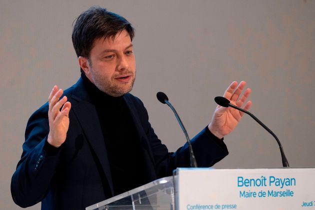 Benoît Payan, ici donnant une conférence de presse à Marseille, le 7 janvier