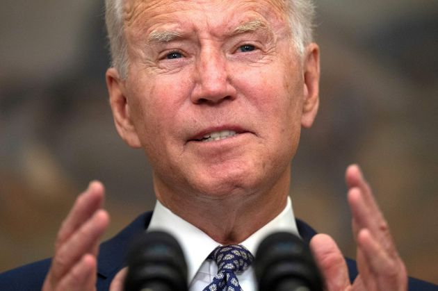 US president Joe Biden speaks about the ongoing evacuation of Afghanistan from the White