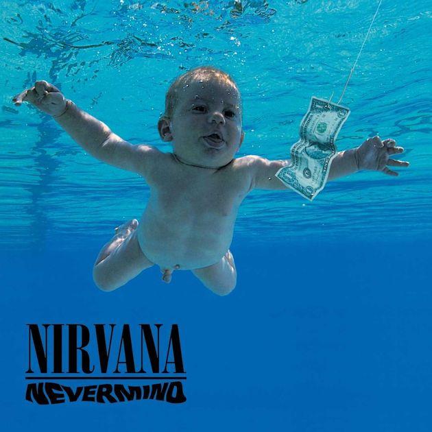 Portada del álbum 'Nevermind' de