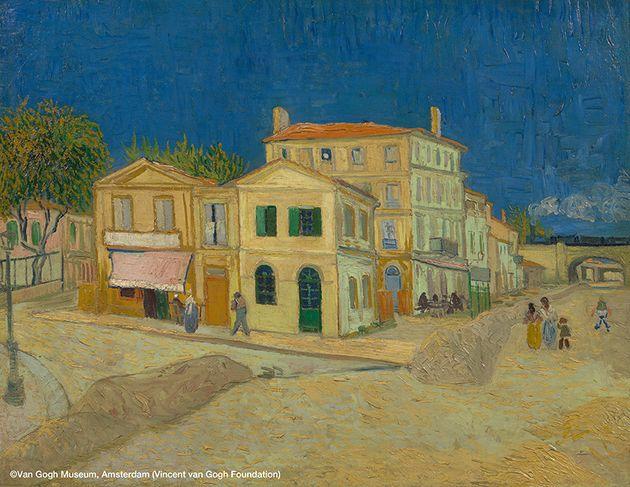 フィンセント・ファン・ゴッホ 《黄色い家(通り)》 1888年9月
