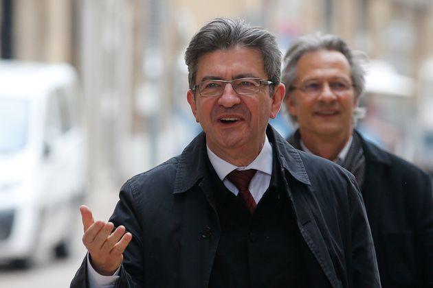 Jean-Luc Melenchon à Marseille, le 11 mai