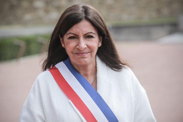 Anne Hidalgo à Paris, le 18 juin