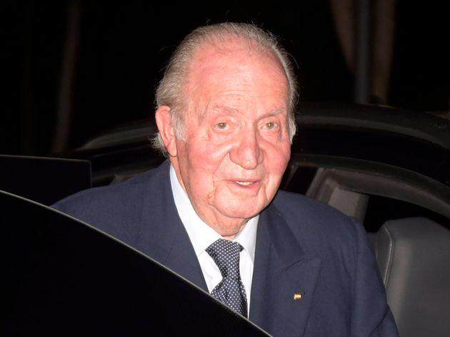 El rey emérito Juan Carlos I, en una imagen de