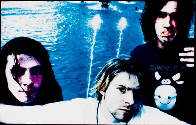 Nirvana pictured in August