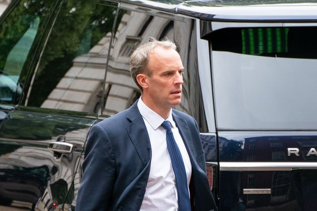 Foreign secratary Dominic Raab faces mounting pressure over his handling of the UK's response to