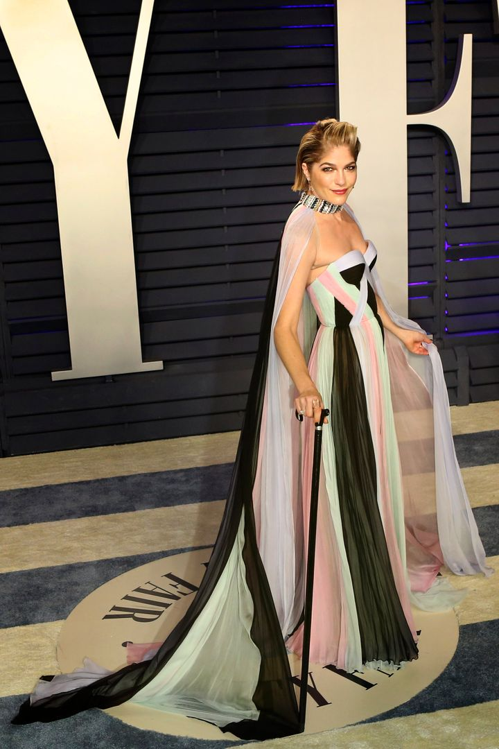 Selma Blair attends the 2019 Vanity Fair Oscar Party hosted by Radhika Jones on Feb. 24, 2019, in Beverly Hills, California.&