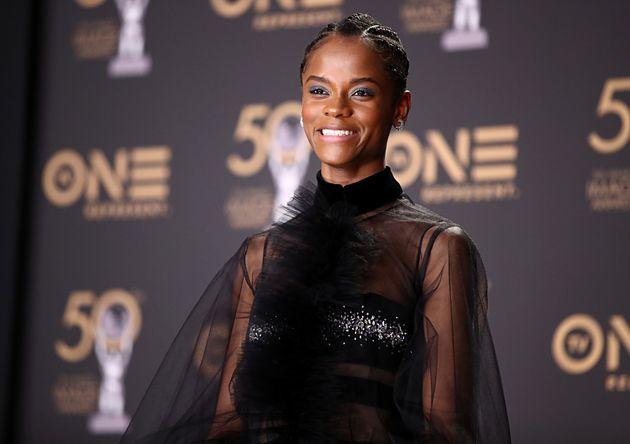 Letitia Wright lors de la 50e édition des NAACP Image Awards au Dolby Theatre à Hollywood...