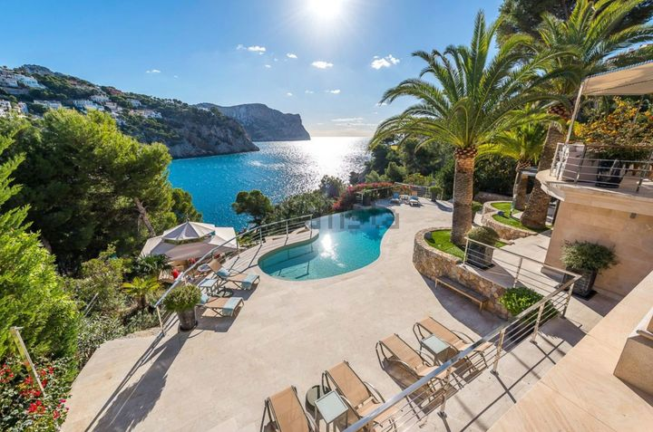 Villa con embarcadero en Port d'Andratx, Mallorca.